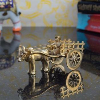Metal Cow Cart