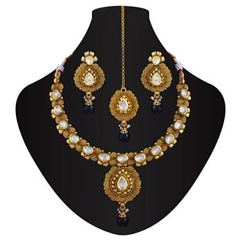Style icon kundan necklace set