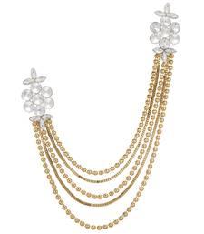Buy Gold diamond brooch brooch online
