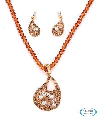 Vendee-Stylish fashion pendant set (3960)