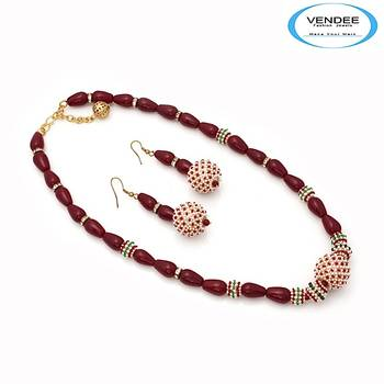 Vendee-Party wear necklace jewelry (6868)