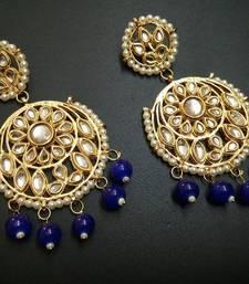 Buy Blue pearl earrings Earring online