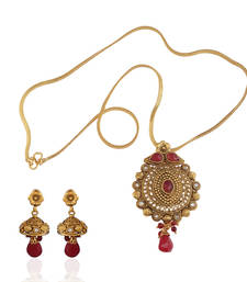 Buy Timeless antique pendant set Pendant online