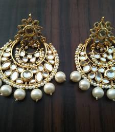 Buy Inayat Kundan chandbali Earring online