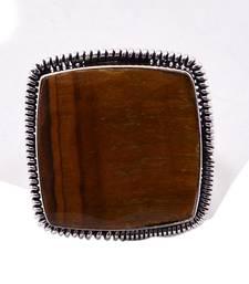 Buy Brown crystal rings Ring online