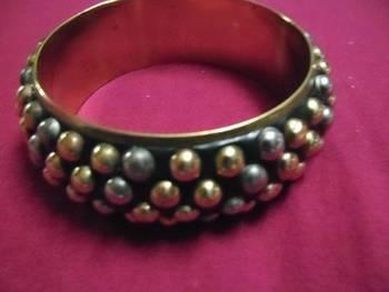 Trendy tricolor bracelet kada