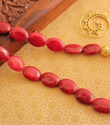 Buy BEAUTIFUL HANDMADE GOLDEN BEADS DESIGNER NECKLACE SET -DJ13196 necklace-set online