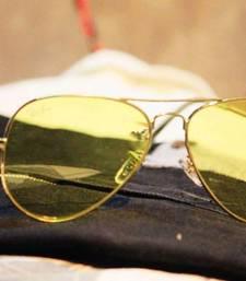 Buy Yellow Classic Style Sunglasses sunglass online