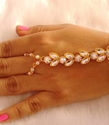 Buy Multicolor pearl haath-phool-hath-panja haath-phool-hath-panja online