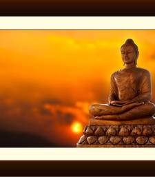 Buy Buddha on Lotus at sunset Painting painting online