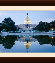 Buy White House mirror on water Painting painting online