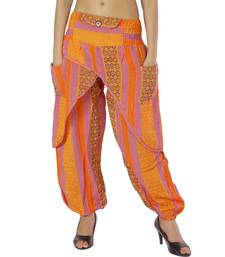 Buy Jaipuri Design Cotton Hand Woven Girls Harem Pants harem-pant online
