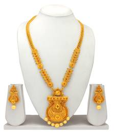 Buy Atasi International Traditional Gold Plated Necklace Set necklace-set online
