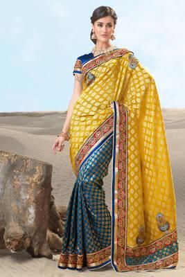 Multi Colored Upada Sari