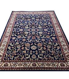 Buy persian silk touch for living room and bedroom (0.5' hight-3 x 5 feet 90 x 145 cm)-blue carpet online