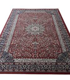 "Buy Persian Traditional Carpet Silk Touch For Living Room and Bedroom (0.5"" Hight 5 x 7 feet - 150 x 210 CM)-RUST carpet online"