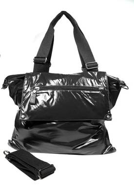 Just Women - Fascinating Black PU Leather Handbag