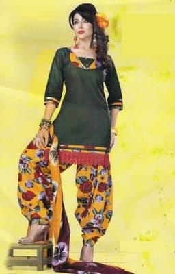 Dress Material Lawn Cotton Prints Unstitched Salwar Kameez Suit D.No PD106