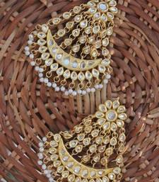 Buy All kundan heavy chaandbala danglers-drop online