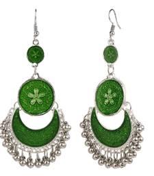 Buy Green crystal danglers-drops danglers-drop online