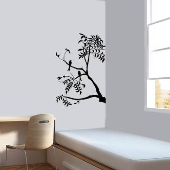 Wall decals Drongo bird on a branch stickers