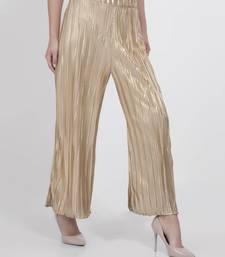 Buy Metallic Culottes palazzo-pant online