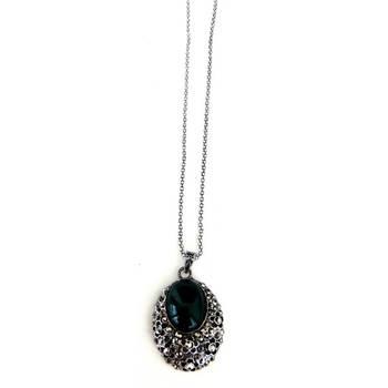 Stone long necklace/JW-689G