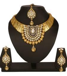 Buy White diamond necklace-sets necklace-set online
