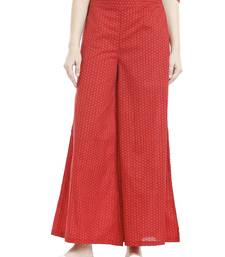 Buy Red Dots Printed Palazzo palazzo-pant online