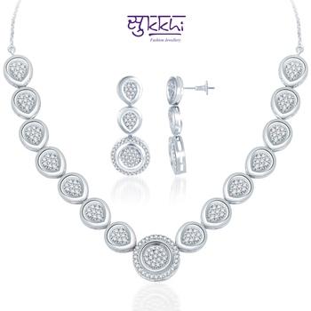 Sukkhi Gold  and Rodium plated Glamorous