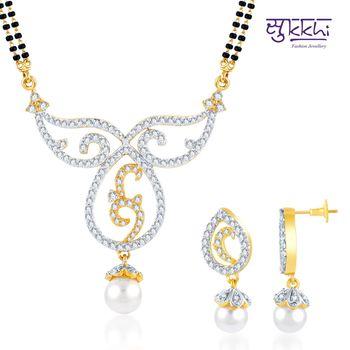 Sukkhi Moddish Gold and Rhodium plated C