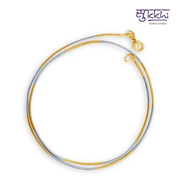 Diwali Gifts - Sukkhi two tone plated chain