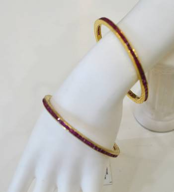 Ruby Channel Bangles