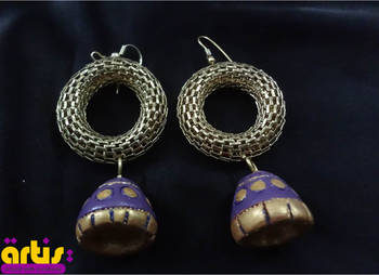 Jhumki with a Brass Ring