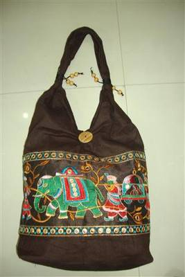 cotton embroidery bag