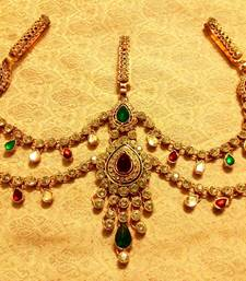 Buy Kundan Triple Juda Waist Belt Kamarband Ethnic Wedding Jewelry waist-belt online