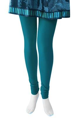 Just Women - Turquoise leggings - 4 way stretch