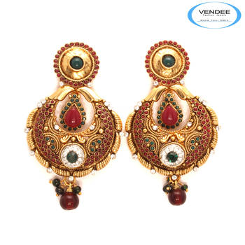 Vendee Fashion New Arrival Copper Earrin