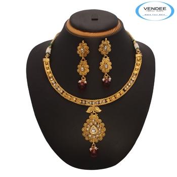 Vendee Fashion Marvelous Copper Necklace