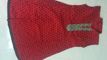 Red coloured Kurti