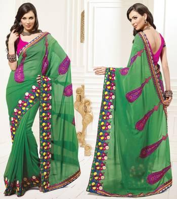 Zing Designer Sari 1206