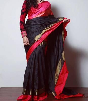 show stopper pure pattu saree