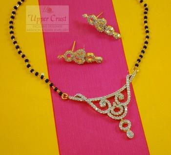 CZ Diamond Bridal Mangalsutra