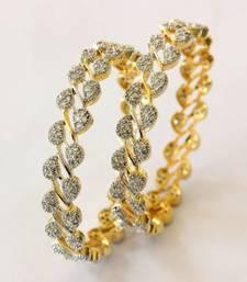 Buy CZ STONE STUDDED BANGLE eid-jewellery online