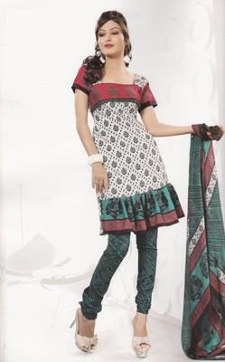Crepe Dress Material Elegant Designer Unstitched Salwar Suit D.No 4325