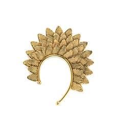 Buy Leaf Gold Ear cuffs ear-cuff online