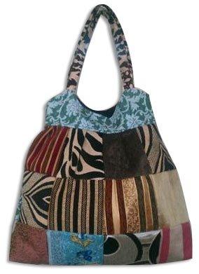 velvet patch bags