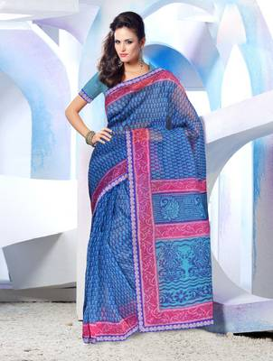 Designer SuperNet Sari magic1002