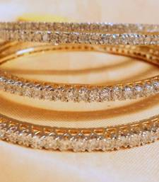 Buy BANGLE IN CZ PAIR bangles-and-bracelet online