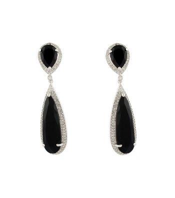 Sihiri Classic Black Earrings